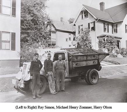 (Left to Right) Ray Simon, Michael Henry Zommer, Harry Olson