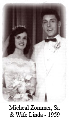 Micheal Zommer, Sr. & Wife Linda - 1959